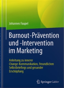 Burnout-Prävention und -Intervention Faupel Springer Gabler