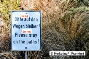 Merketing – nicht auf den Wegen bleiben
